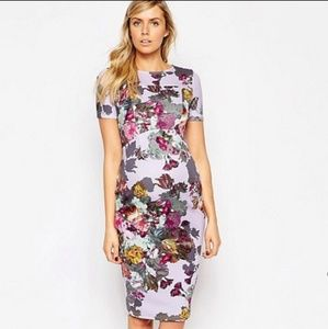 ASOS Maternity | Floral Midi Dress